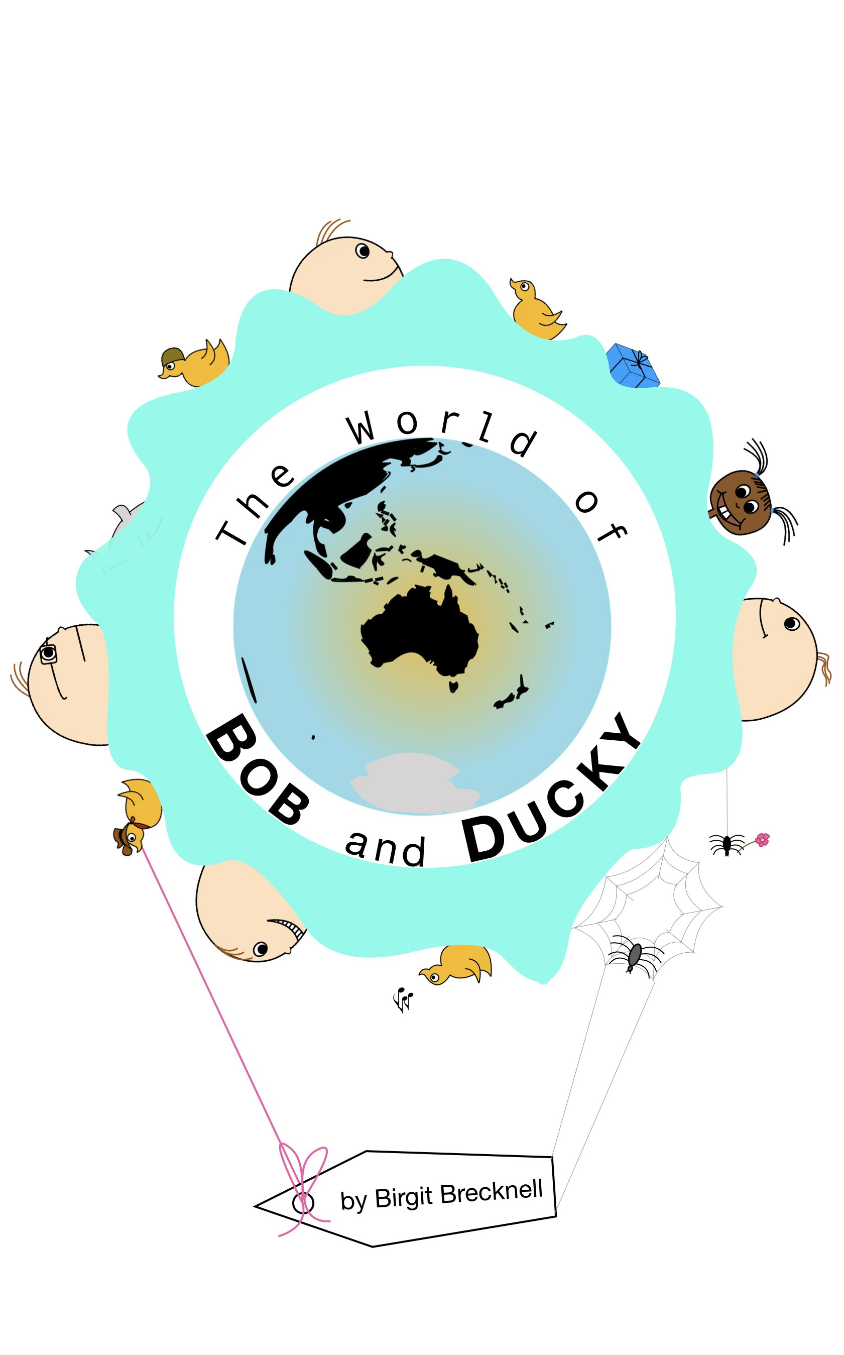 Bob and Ducky cartoon
